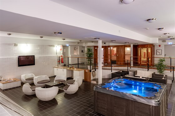 first hotel spa
