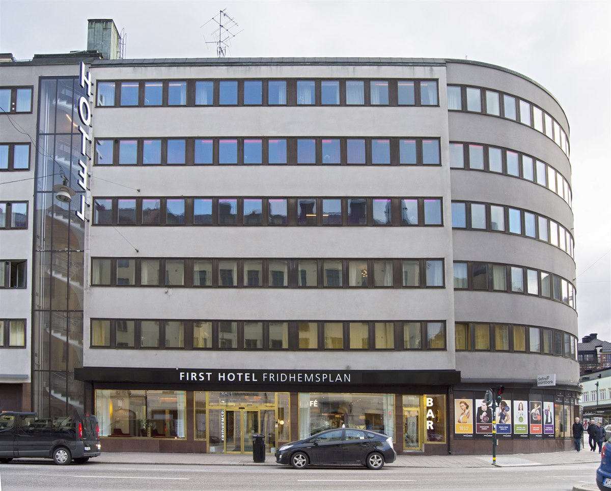 Hotel stockholm first hotel fridhemsplan on kungsholmen for Hotel stockholm