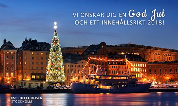 God jul från First Hotels