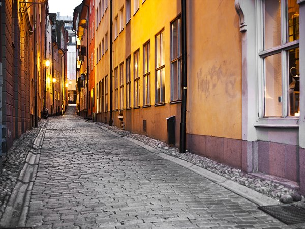 Street nearby in Stockholm